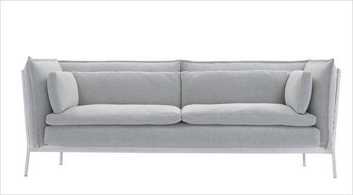 最爱清新淡雅 灰白色沙发必败款(组图)