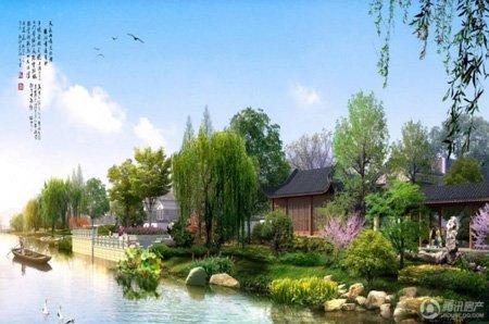宝安江南城别墅20万定金抵30万总房款
