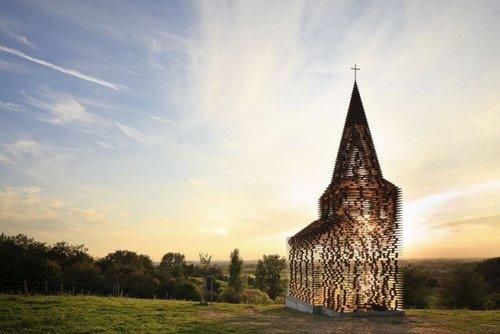 """揭秘比利时可以被""""看穿""""的教堂(图)"""