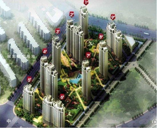 六大新兴居住区最具升值兄弟楼盘之中北镇别墅潜力拼设计图雙图片
