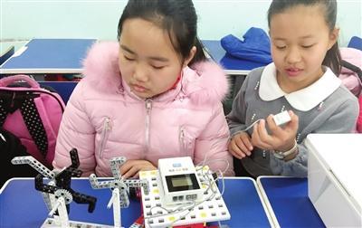 天津多所中小学引入机器人等课外课程资源