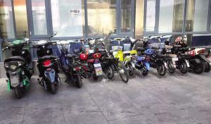 河东警方缴获被盗电动自行车14辆 正在寻找车主