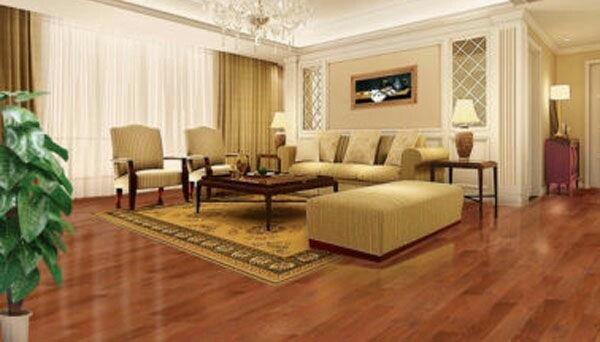三层实木地板环保吗