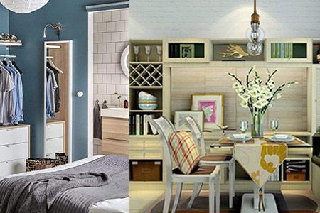 小户型家具摆放技巧 四个秘诀值得分享