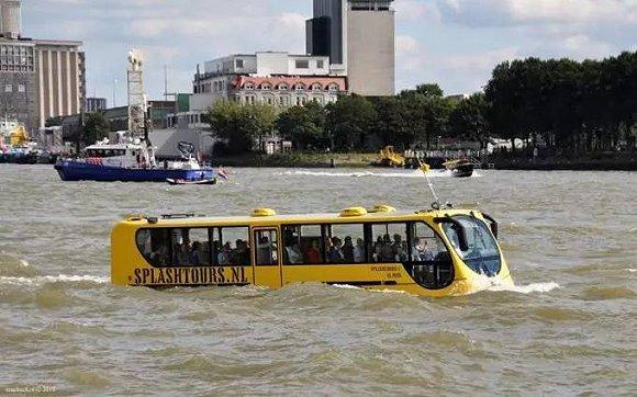 公交也能水陆两用?竟有这些奇葩交通工具