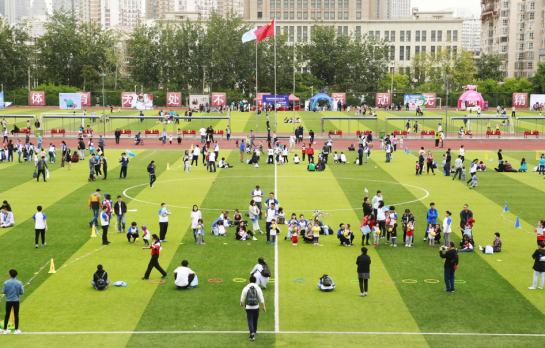 澳睿跑第二届秋季运动会 一年一度的儿童体育盛宴