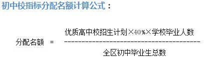 天津优质高中实行招生指标分配 分配比例为40%
