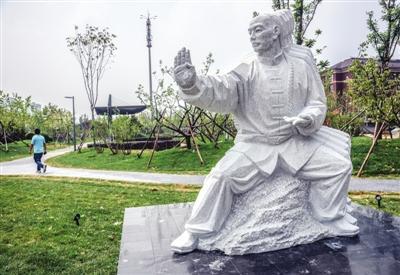 天津全运村健身公园完工 各类设施齐全