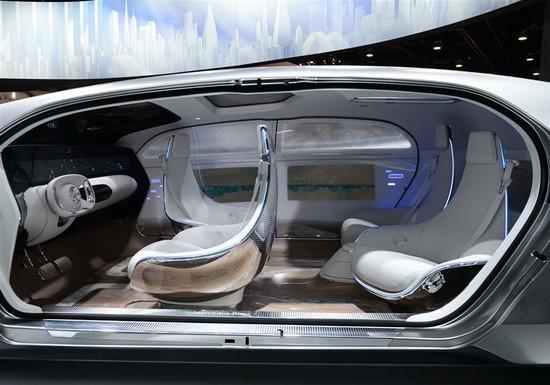 35年的高科技汽车内饰也许能变成这样高清图片