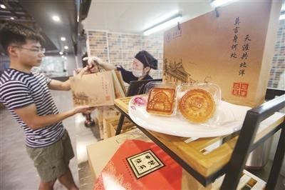 天津大学专属月饼亮相 受众多师生校友喜爱和追捧