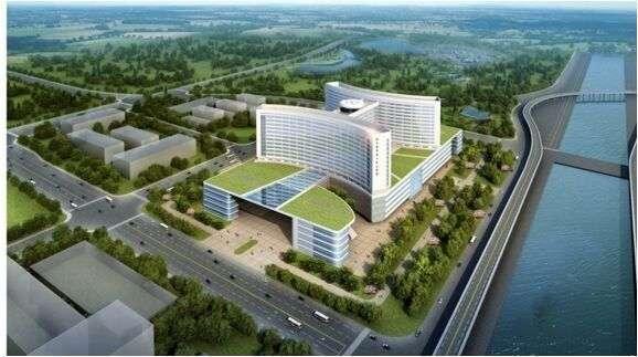 新一中心医院打造本市单体体量最大医院