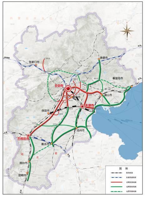 天津铁路最新规划 连接市区 滨海新区与雄安新区