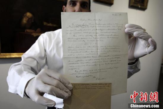 爱因斯坦于1921年写给意大利学生的系列书信