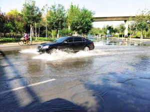 雨过天晴后排水泵压力大 雨后返水跑冒