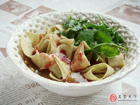 天津锅巴菜的做法 - 俊逸 - 俊逸的博客