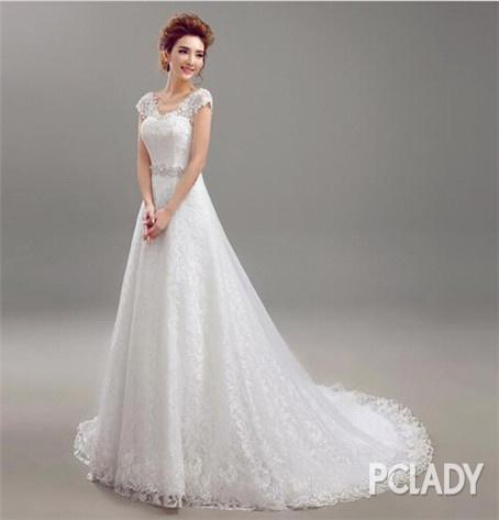 最全矮个子女生婚纱挑选指南