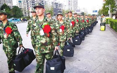 武警天津市总队征尘未洗 再赴新战场