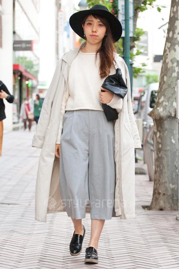 东京熟癹n��.�_东京街头阔腿裤的n种秋冬搭配法
