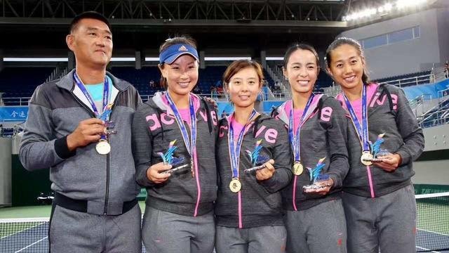 首金!天津女子网球队勇夺全运会团体冠军!