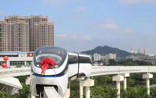 厉害了!大港要建轻型单轨电车!