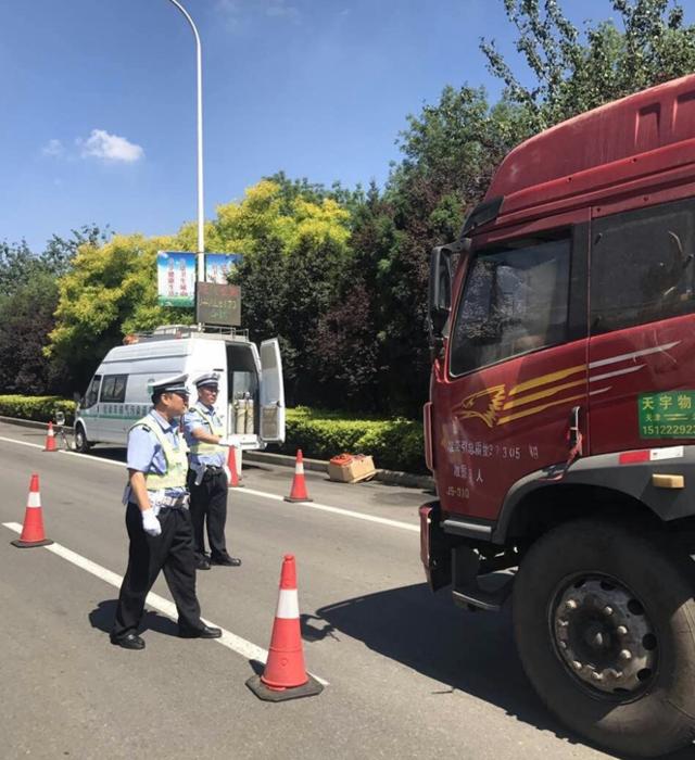 本月以来2000余货车在天津这地方被罚