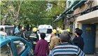 天津一居民家中起火