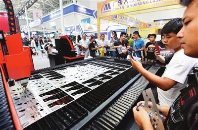 天津机械博览会昨日落幕