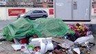 小区垃圾堆成患