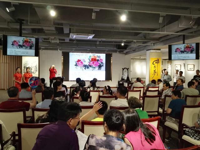 当代青年书画家董安安作品展 在津举行图片