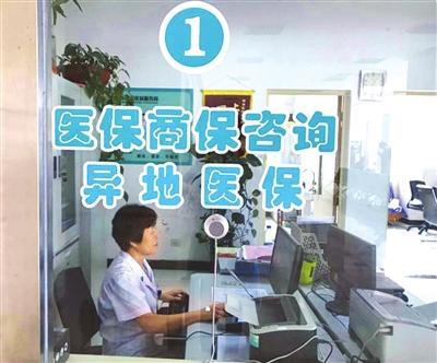 西青医院医保异地结算服务窗口图片
