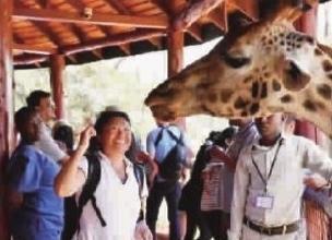 大批中国游客往非洲避暑 因南北半球季节相反