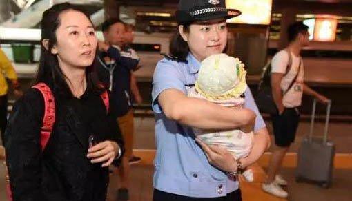5个月大女婴被拐卖