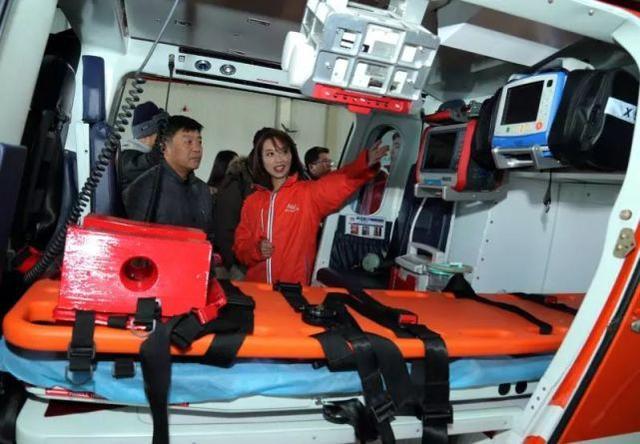 天津空中应急救援开通 就近送往7家大医院