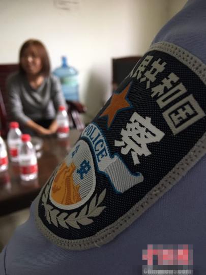 图为云南女大学生西安获救。 警方供图