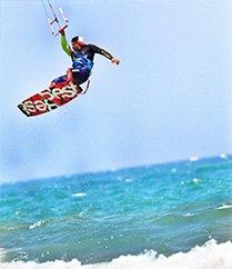 风筝冲浪操控天和海
