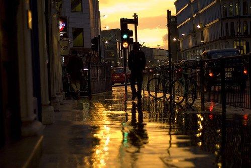 下雨生活图片_