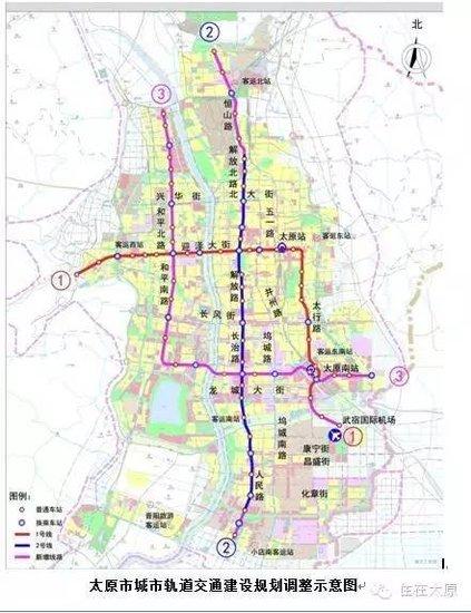 太原南站将建东广场 未来地铁1号线将在此设站