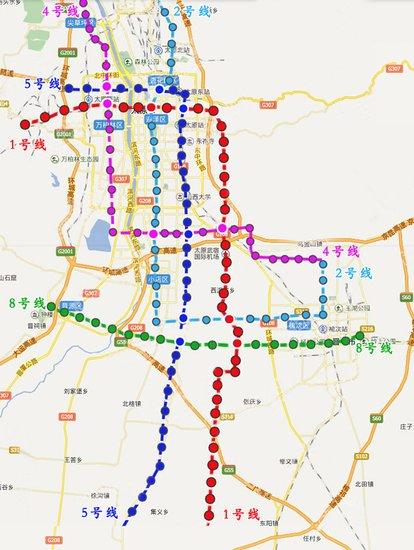 庆城市轨道交通线路图标准色-龙城最新轨道线路规划图1 5号线 新增图片