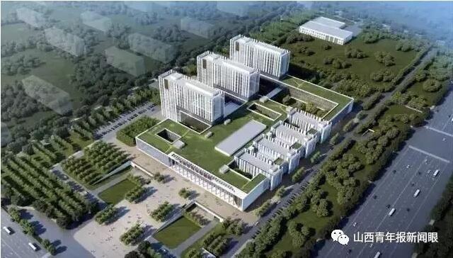 太原市妇幼新院主体封顶;迎泽公园南片区新景
