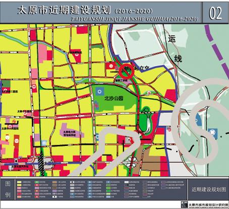 """太原东部""""气质""""提升 拟建北沙公园规模比超迎泽公园"""