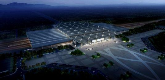 太原南站规划图-太原南站有望7月1日前投入运营