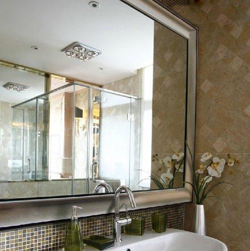 精美浴室镜为卫浴空间浪漫添色