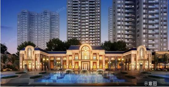 欧陆浪漫的高雅情调:采用隽永的新古典主义建筑手法,大面积开窗,弧形图片