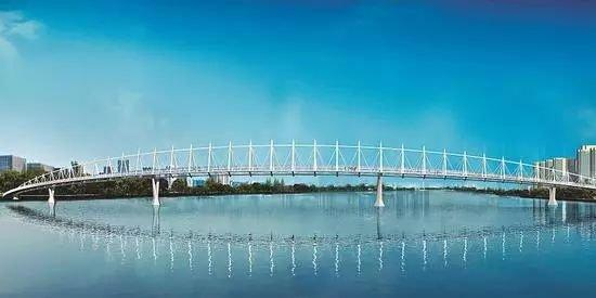 太原将再建一座跨汾河人行桥 周边沾光盘推荐