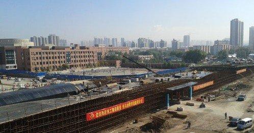 关注太原快速路建设 南中环高架桥9月底完工