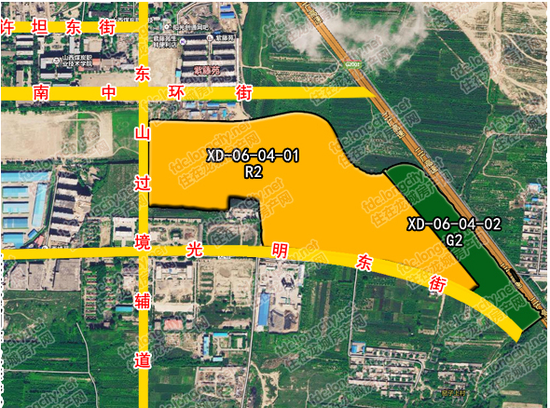 太原南站片区拆迁安置 选址光明东街旁
