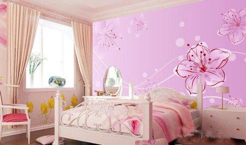 卧室墙壁纸效果图片大全 扮靓你的家居空间