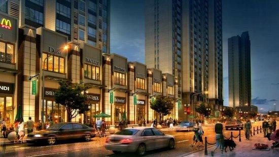 """中心城市建设""""美食街""""?这些盘出门就是大型商场"""