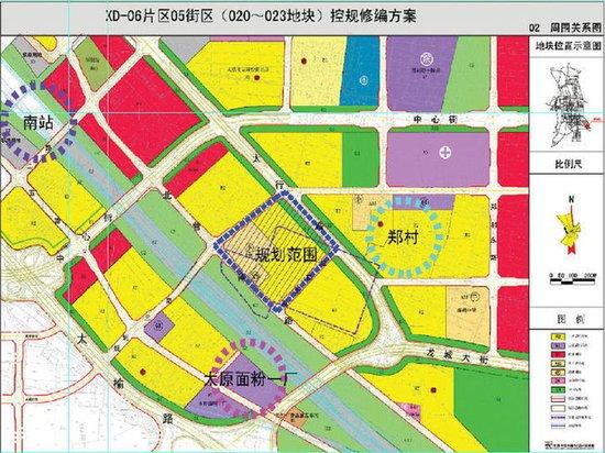 北营片区规划图规划图