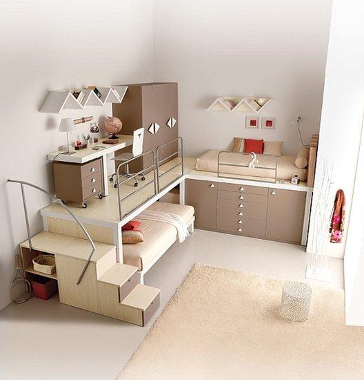 让案例更和谐平面组合式家具设计卧室赏析空间设计师的准入标准为图片